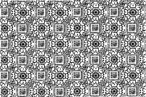 2d barcode wallpaper